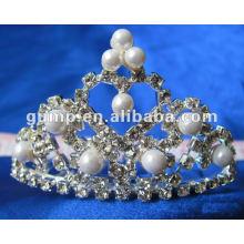 Crstal tiara comb (GWST12-114)