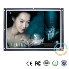 "16:9 resolution 1920x1080 Open frame 21.5"" LCD monitor with HDMI, DVI, VGA Interface"