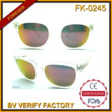 Tr032 Unisex de estilo clásico masculino personalizados gafas transparente Tr90