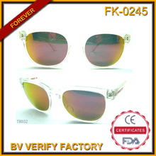 Tr032 Classic Male Style Unisex Personalized Transparent Tr90 Sunglasses