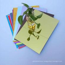 OLEG Size Custom Rose Gold Acrylic Mirror Sheet Wholesale