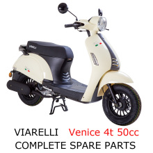 Viarelli Venice 4t 50cc Scooter Part Complete Parts