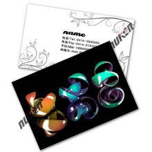 2015 New Design 3D Lenticular Name Card