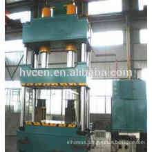 four columns hydraulic press machine for leather