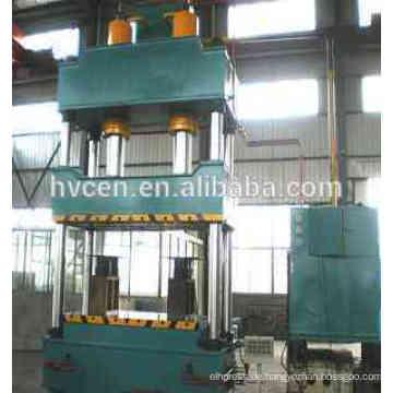 Vier Säulen hydraulische Pressmaschine für Leder