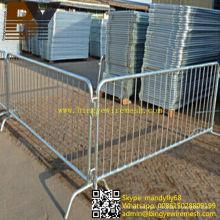 Barreras removibles galvanizadas de alta calidad
