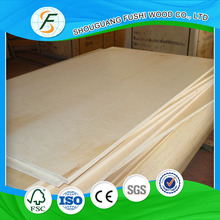 First-Class 18mm Commercial Plywood With Birch Vneer of Face and Back