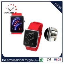 Силиконовые LED часы цифровой наручные часы (ДК-364)