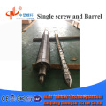 Hard pvc plastic screw and barrel for  haida injection molding machine