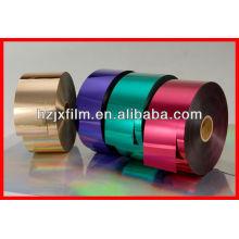Film en papier stratifié métallisé