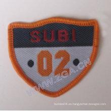 Emblema de la manga, tejido, remiendo del bordado, ajustes, accesorios del paño