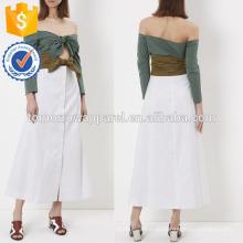 Новый Многофункциональный мода двойной узел с длинным рукавом платье Производство Оптовая продажа женской одежды (TA5219D)