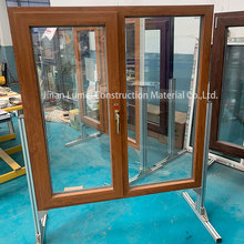 Grey UPVC Sliding Doors Double Glazed Sash Windows