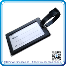 Wholesale PVC Luggage Tag with Rubber Logo for Promotional
