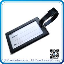 Оптовая бирка багажа PVC с резиновый Логосом для Выдвиженческого