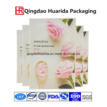 Facial Mask Bag Cosmetic Sachet Packaging Bag with Aluminium Foil