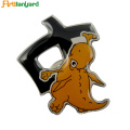 Custom Logo Name Merek Metal Badge