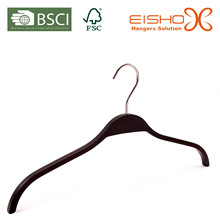 Black Plastic Top Hanger (L048)