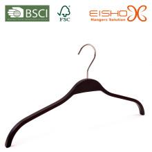 Черная пластиковая верхняя вешалка (L048)