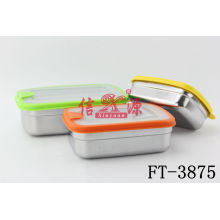 Stainless Steel Rectangle Keep Fresh Container (FT-3875)