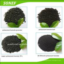 Manufacture Potassium Humate Organic Fertilizer