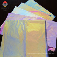 2021 Trending Products Rainbow 100%Polyester Reflective Fabric for Fashion Clothing