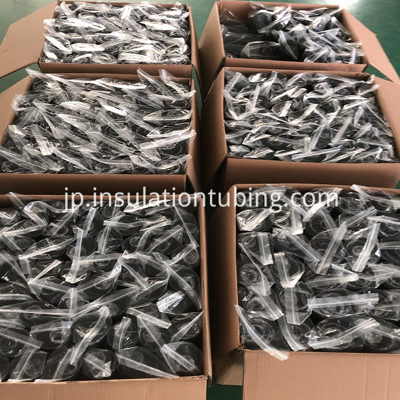 Spiral Adhesive Heat Shrink Tube For Fiber Optic Splice Closure Packing