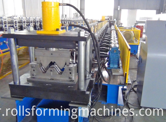 Trinity Industries Guardrail Making Machine