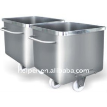 standard material truck for food processing
