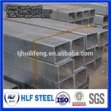 Tuyau carré en acier au carbone