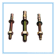 Yellow Zinc Plated Screw Type Wedge Anchor Bolts