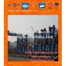PVC Ventilação Torre Tarpaulin e mangueira de ventilação