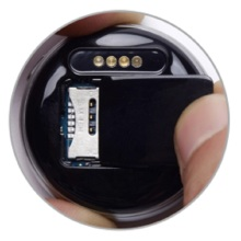 40*12mm Miniature GPS Tracker with USB charging