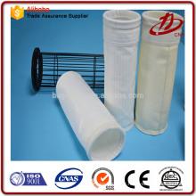 Produits industriels PP / PE / Nylon en fibre de verre Sacs à poussière PPS Filtres en tissu
