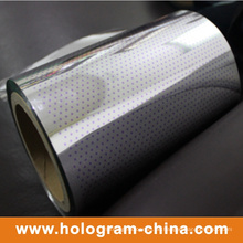 Hologramm-zweifarbiger Tamper Evident Aluminiumfolie