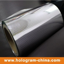 Hologram Two Color Tamper Evident Aluminum Foil