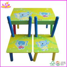 Table et chaise pour enfants (W08G082)