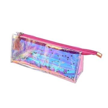 LASER MULTIFUNCTION TRANSPARENT PENCIL CASE-0