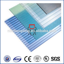 6mm hollow polycarbonate sheet polycarbonate plastic roofing panel