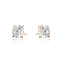 96933 xuping wholesale high quality fashion 18k gold color synthetic zircon ladies stud earrings