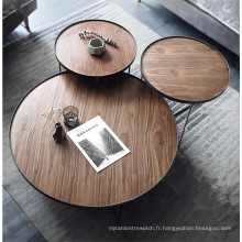 Ensemble de table basse moderne