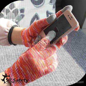 SRSAFETY Popular magic knitted glove for smartphone/touch magic gloves