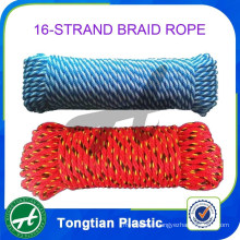 Plastic rope hollow braid twine