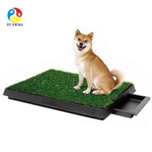 Casa interior pet dog dog wc xixi treinamento potty grama bandeja pad mat 3 camadas