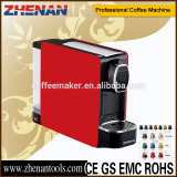Newest italian style capsule coffee machine espresso making machine