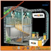 2014 New hot sale product with high quality modular custom stand design booth