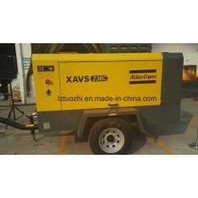 Atlas Copco 510cfm 14bar Diesel Compresor de aire de tornillo portátil
