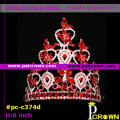 ChinaRed teardrop christmas cageants tiaras crowns