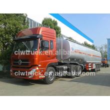 Venta caliente Dongfeng Tianlong móvil de combustible diesel, 30M3 camión cisterna de combustible
