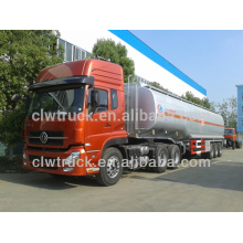 Venda quente Dongfeng Tianlong Diesel móvel tanque de combustível, 30M3 caminhão tanque de combustível